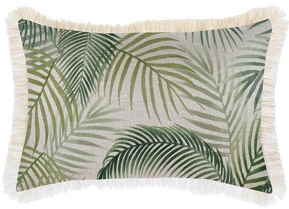 'Seminyak' Pillow Cover with Fringe - Long