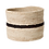 Thumbnail: Black + Natural Storage Basket III by KAZI