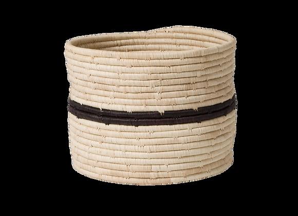 Black + Natural Storage Basket III by KAZI
