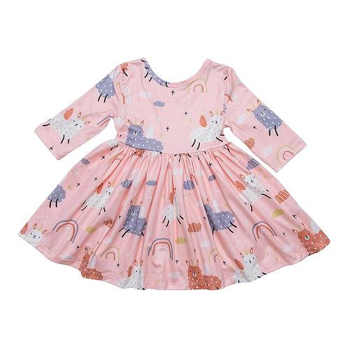 Llamacorn Twirl Dress