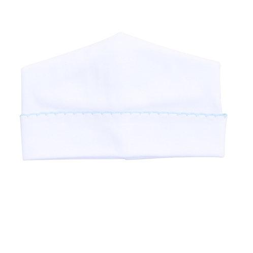 Essentials Hat White Blue