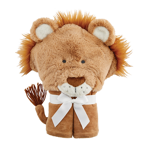 Lion Baby Hooded Towel