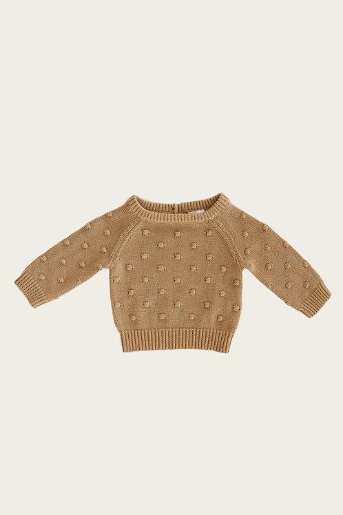 Dotty Knit Latte