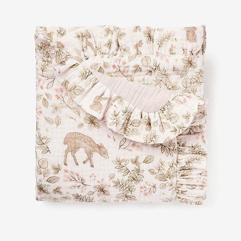 Bunny Print Blankie