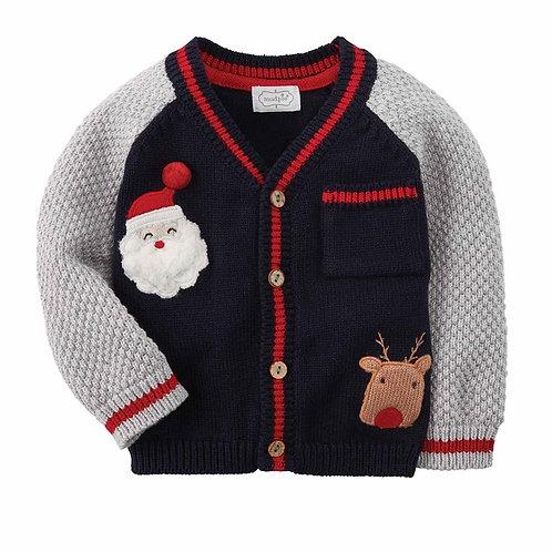 Baby Boy Christmas Cardigan