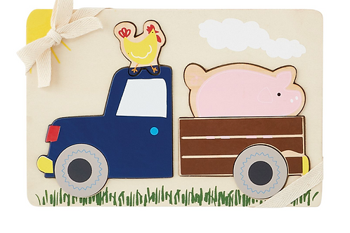 Pick up Truck Farmhouse Puzzle