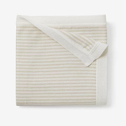 Blanket Ministripe Blush Wheat