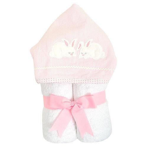 Pink Bunny Everykid Towel