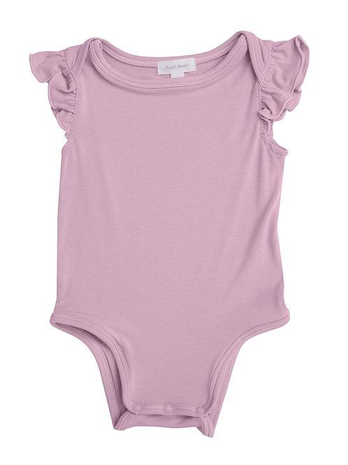 Lilac Basic Bodysuit