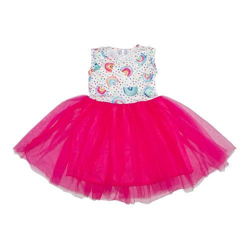 Rainbow Tank Tutu Dress