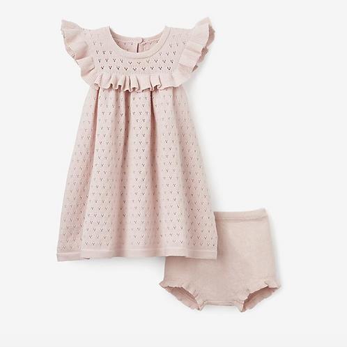 Dress Point Flutter Bloomer Pink