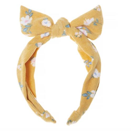 Florence Tie Headband Ochre