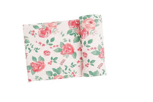 Rose Garden Swaddle Blanket Multi