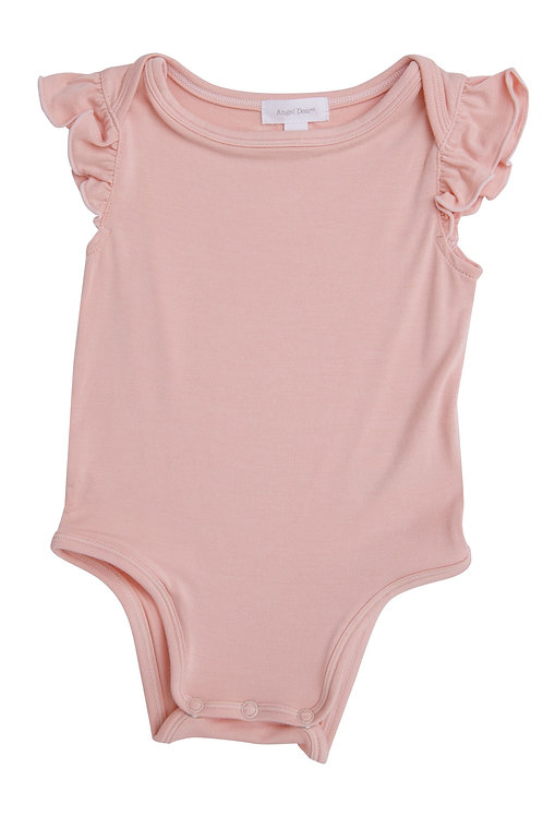 Pale Pink Basic Bodysuit