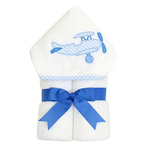 Blue Plane Everykid Towel