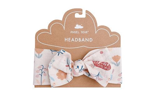 Butterfly Garden Headband Petal Pink