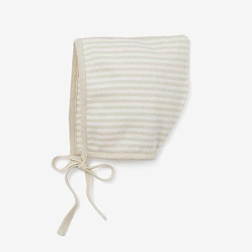 Bonnet Wheat Stripe