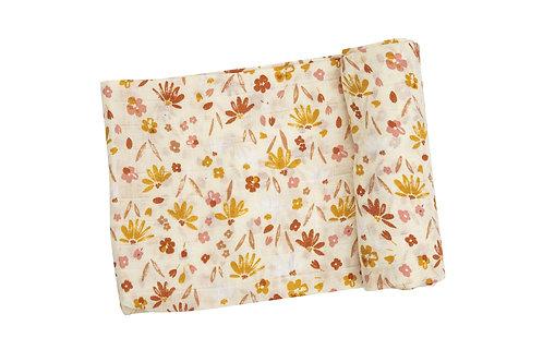 Daisy Baby Swaddle Blanket