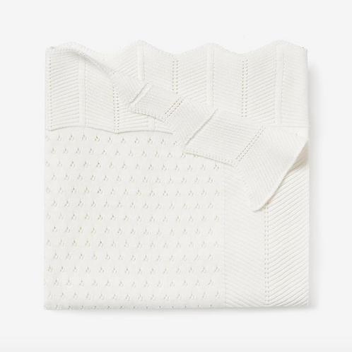Blanket Pointelle White