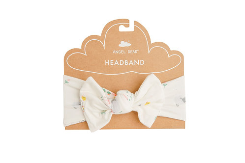 Little Farmer Girl Headband Ivory