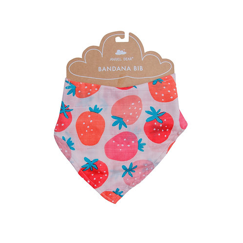 Strawberries Bandana Bib