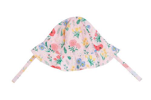 Summer Floral Sunhat