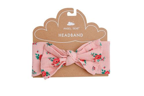 Mini Rose Headband Crystal Rose