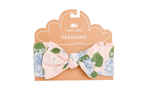 Hydrangea Headband Pink