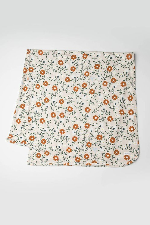 Flower Vine Stretch Knit Blanket