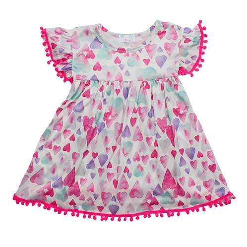 Ligth Hearted Pom Pom Dress