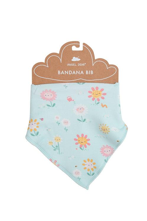 Hello Daisy Bandana Bib Blue One Size