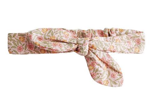 Adjustable Head Bow Lili Pink