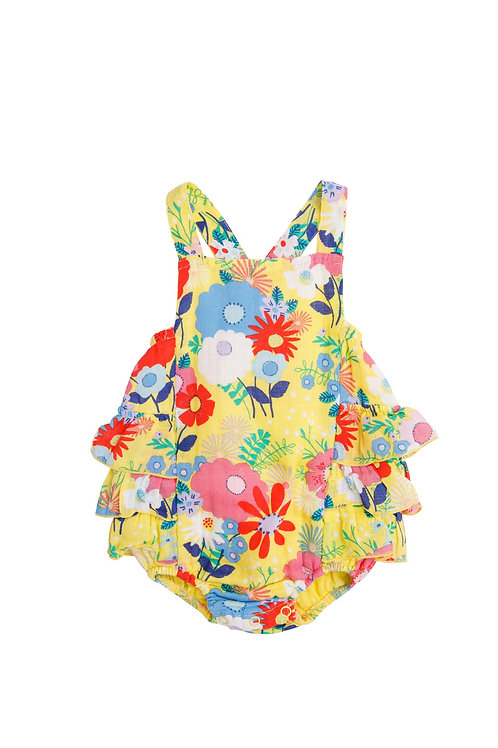 Superior Blend Ruffle Sunsuit
