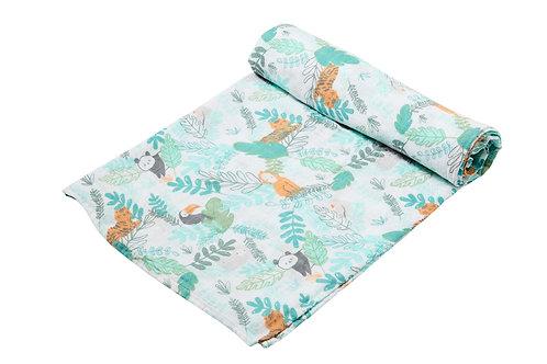 Jungle Swaddle Blanket