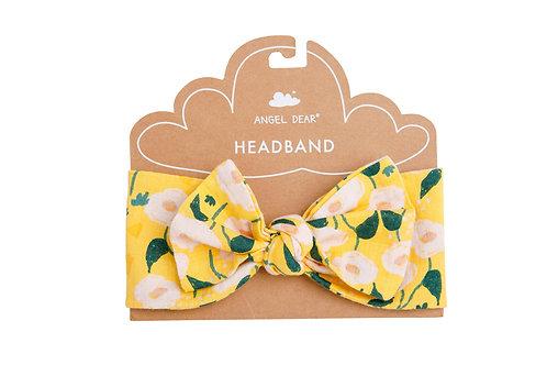 Golden Floral Headband