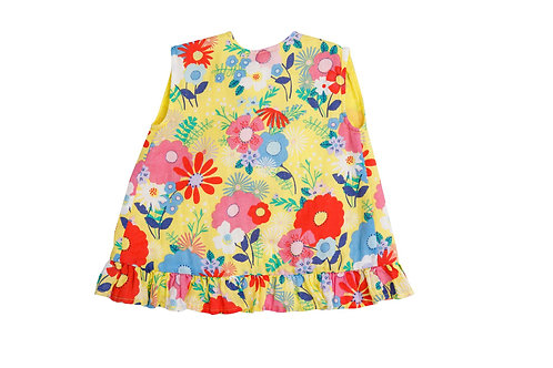 Superior Blend Ruffle Top and Bloomer