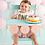 Thumbnail: Pink Cake Topper and Banner