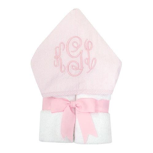 Pink Seersucker Everykid Towel
