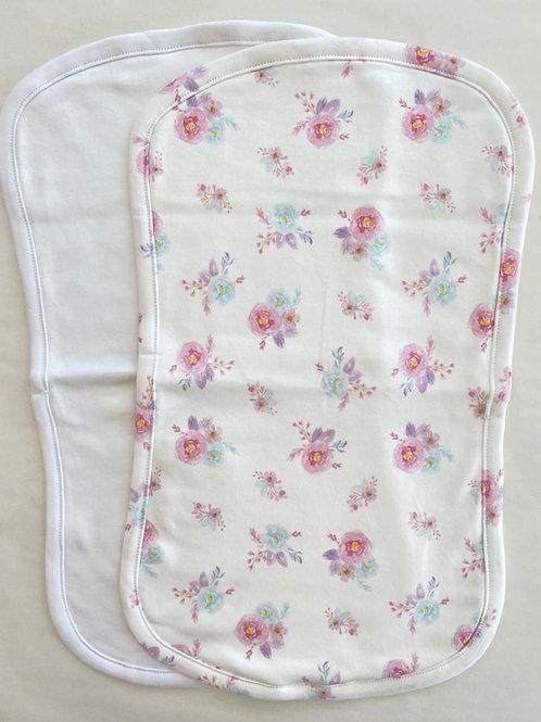 Bouquet Burp Cloth