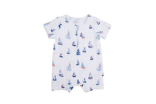 Nautical Boats Henley Shortall Blue