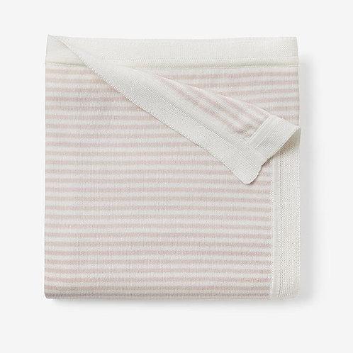 Blanket Ministripe Blush Pink