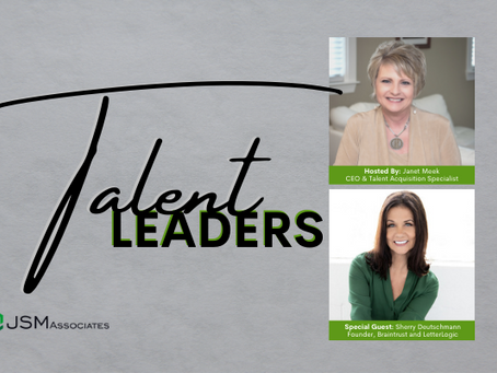 Talent Leaders Episode 1: Sherry Deutschmann, Founder of LetterLogic