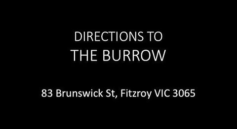 DIRECTIONS TO THE BURROW