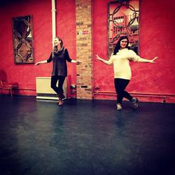 In Clonter Opera rehearsals