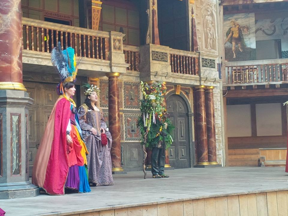 Singing Juno at The Globe Theatre