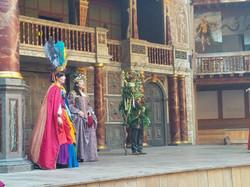 Singing Juno at The Globe Theatre