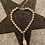Thumbnail: Münster-Armband aus 925er Sterling-Silber (Motiv Rathaus/Kugelkette - 6mm