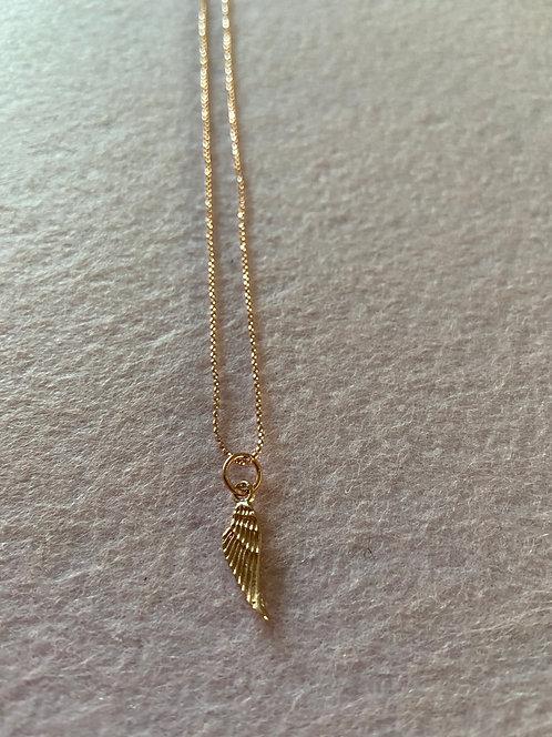"""Kette """"Engelsflügel"""" aus 925er Sterling-Silber rosévergoldet"""