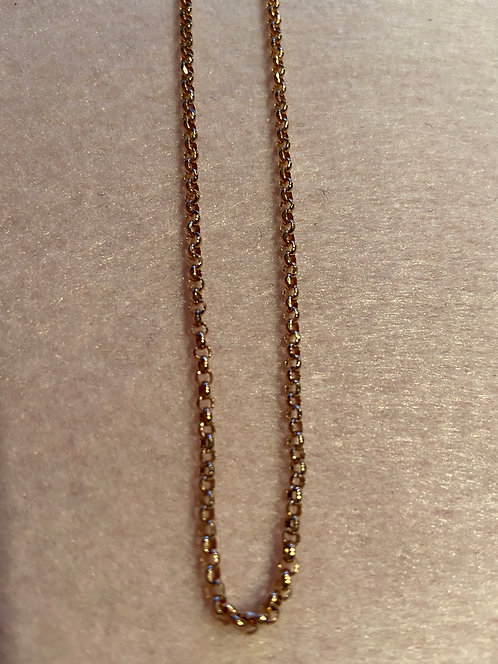 """Kette """"Erbskette 2,5 mm"""" aus 925er Sterling-Silber rosévergoldet"""
