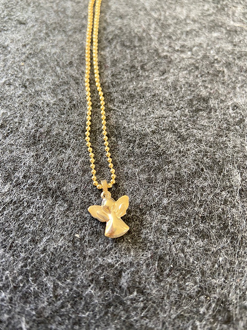Engel-Kette aus 925er Sterling-Silber vergoldet